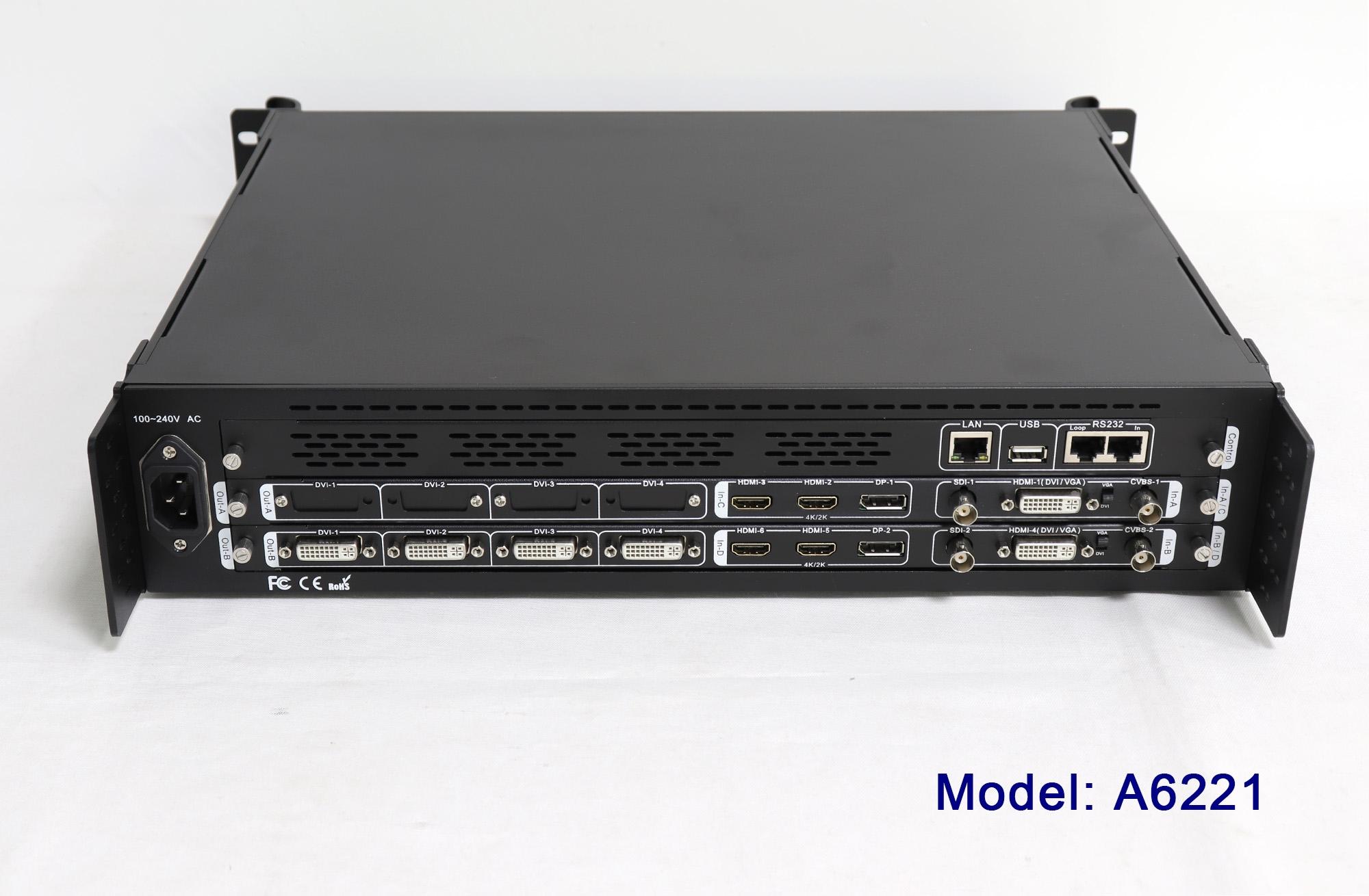 VDWall A6000 4K HD Multi-window Video Processor