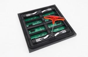 P8 Dual Maintenance LED display Module 320x320mm