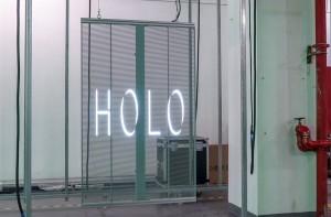 P3.91-7.82 Transparent Glass LED Poster Screen