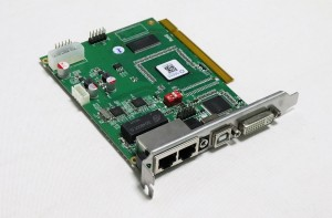 LINSN DS802D Double Color LED Screen Transmitter Card
