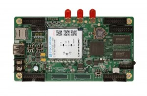 Xixun Sysolution E24 Dedicated Control Card For Bus Rear Screen