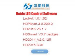Huidu led controller card software download