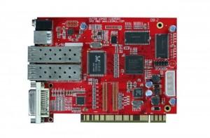 DBstar DBS-HVT09FT Fiber Optic Synchronous LED Sender Card