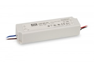 Meanwell LPV-60-12 / LPV-60-24 Lighting Power Supply