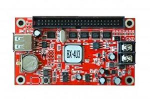 ONBON BX-4U3 Double Color Async U disk LED Screen Plank