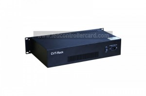Novastar Single-mode Optical Fiber Convertor CVT-Rack320 15km Data Transmission