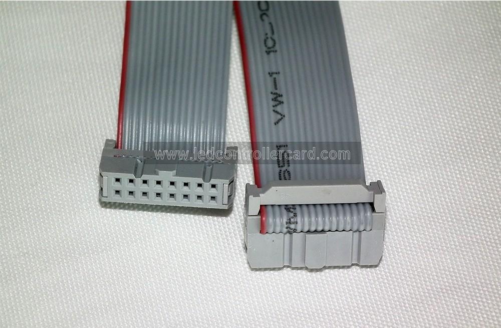 Showing No Signal Cable : Pin led display flat ribbon signal cable data
