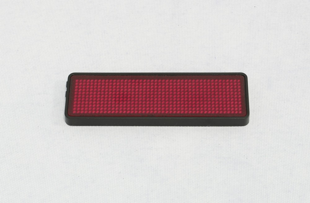 LED Name Badges Mini LED Screen Built-in Lithium Battery