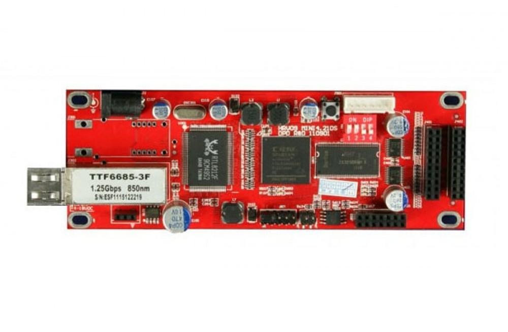 DBstar DBS-HRV09FMN Mini Optic Fiber LED Receiver Card