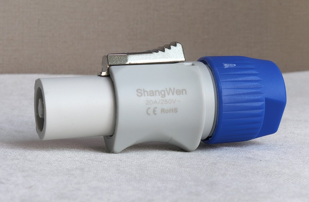 Shangwen Indoor LED Screen Power Cable Plug&Socket