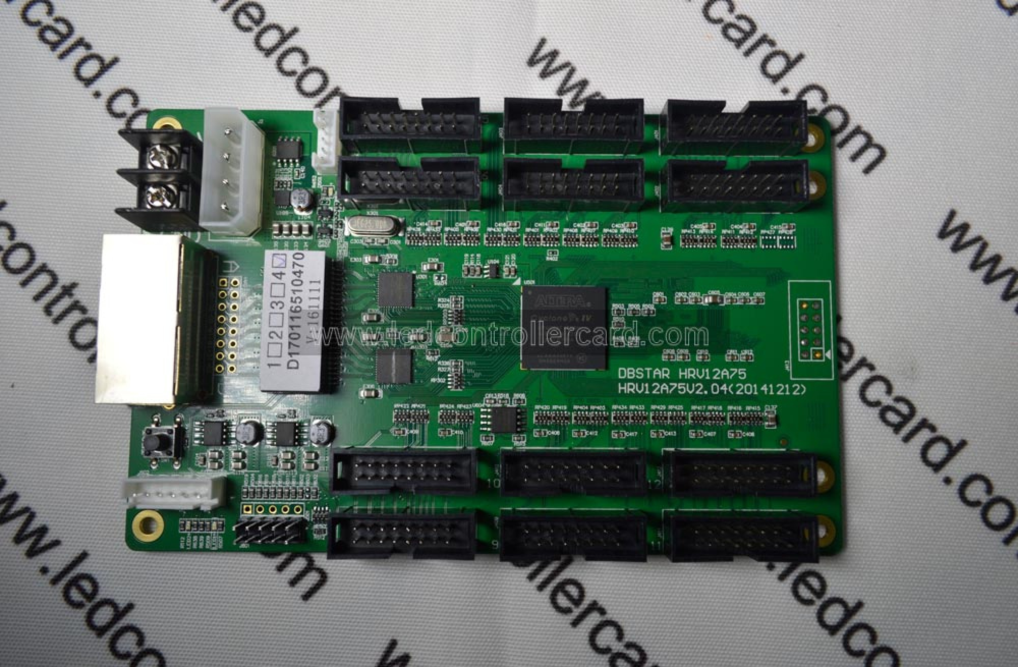 DBSTAR HRV12A75 Full Color Receiver Card with HUB75 Output