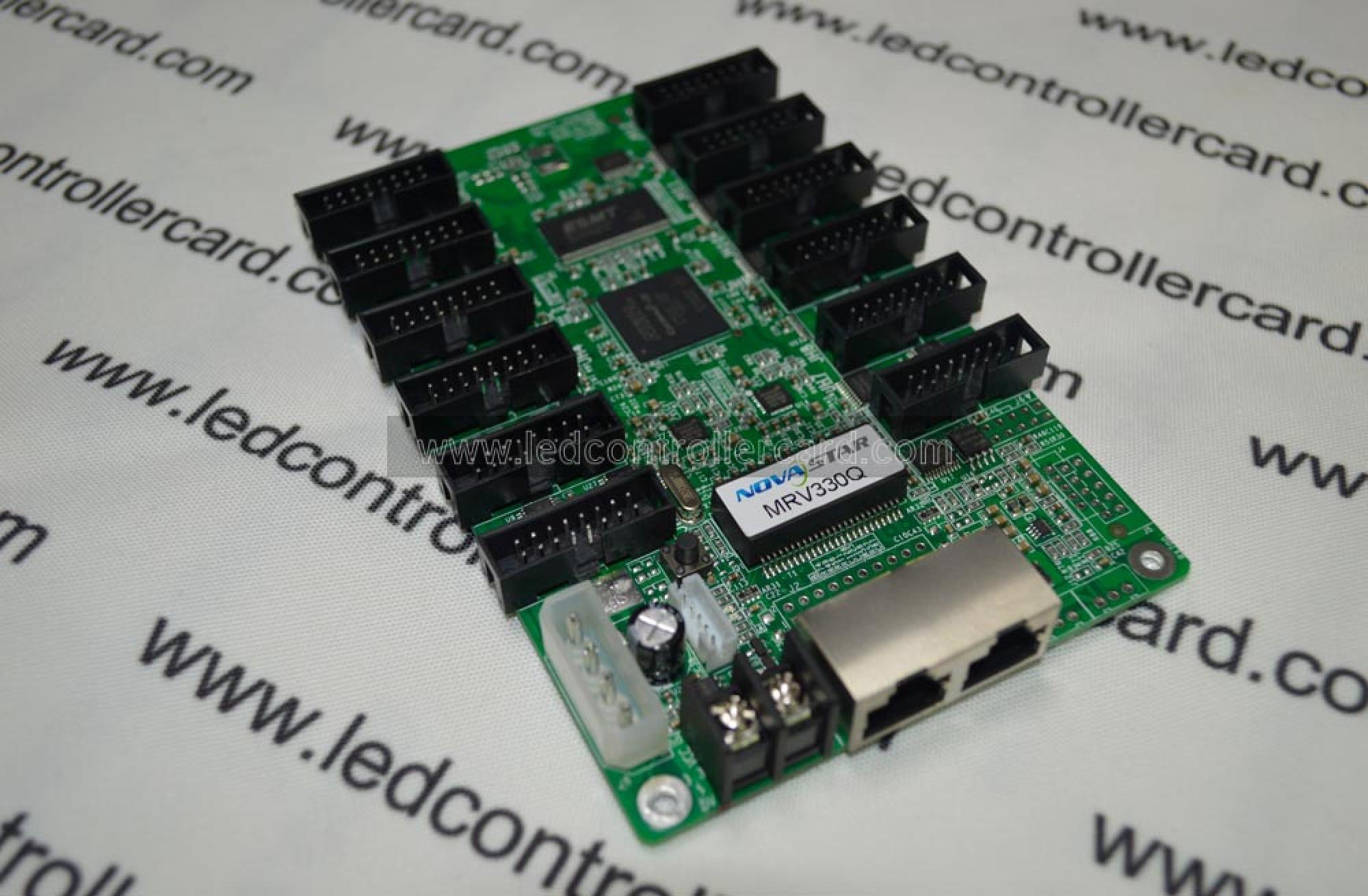MRV330Q NOVASTAR LED Receiver Card Integrated with HUB75 Output