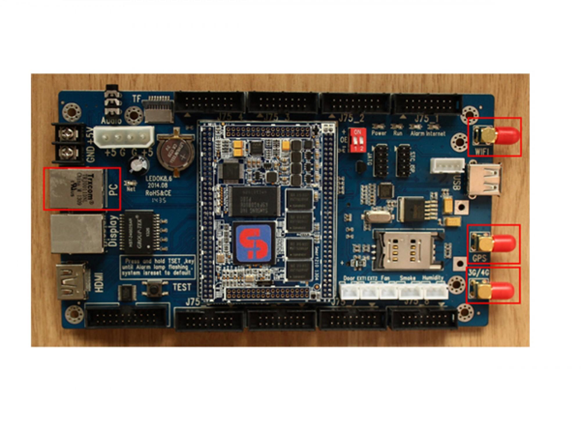 XIXUN Y10 Asynchronous Android LED Controller Card