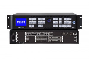 VDWALL A63 4K Multi-Win Mosaic LED Video Wall Processor with HDMI2.0 Outputs