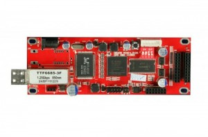 DBstar DBS-HRV09FMN Mini Optic Fiber LED Receiver Card