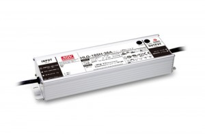 Meanwell HLG-185H-24A / HLG-185H-36A / HLG-185H-48A LED Lamp Lighting Power Supply