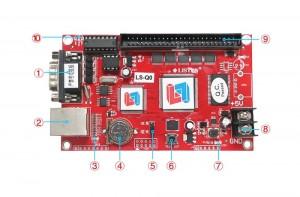LISTEN LS-Q0 Seven Color LED Controller Card