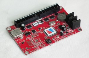 LISTEN LS-U2 USB Single Color LED Sign CPU