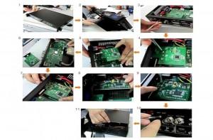 VGA/HDMI/DVI Expanding Module of VDWall LVP605 or LVP603
