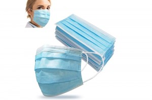 Disposable Protection Face Mask 3 Ply Anti-flu Medical Surgical Mask 50PCS