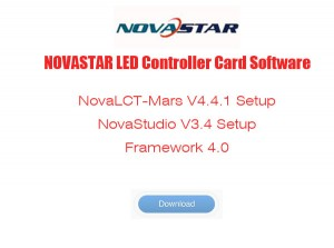 NOVASTAR LED Control System Software Download