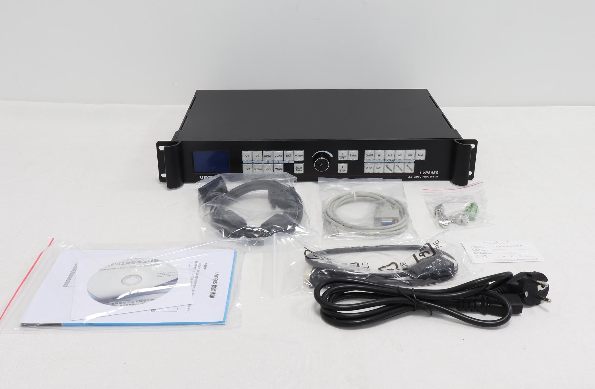 VDWALL LVP605S HD LED Video Montage Processor With HD-SDI,SDI