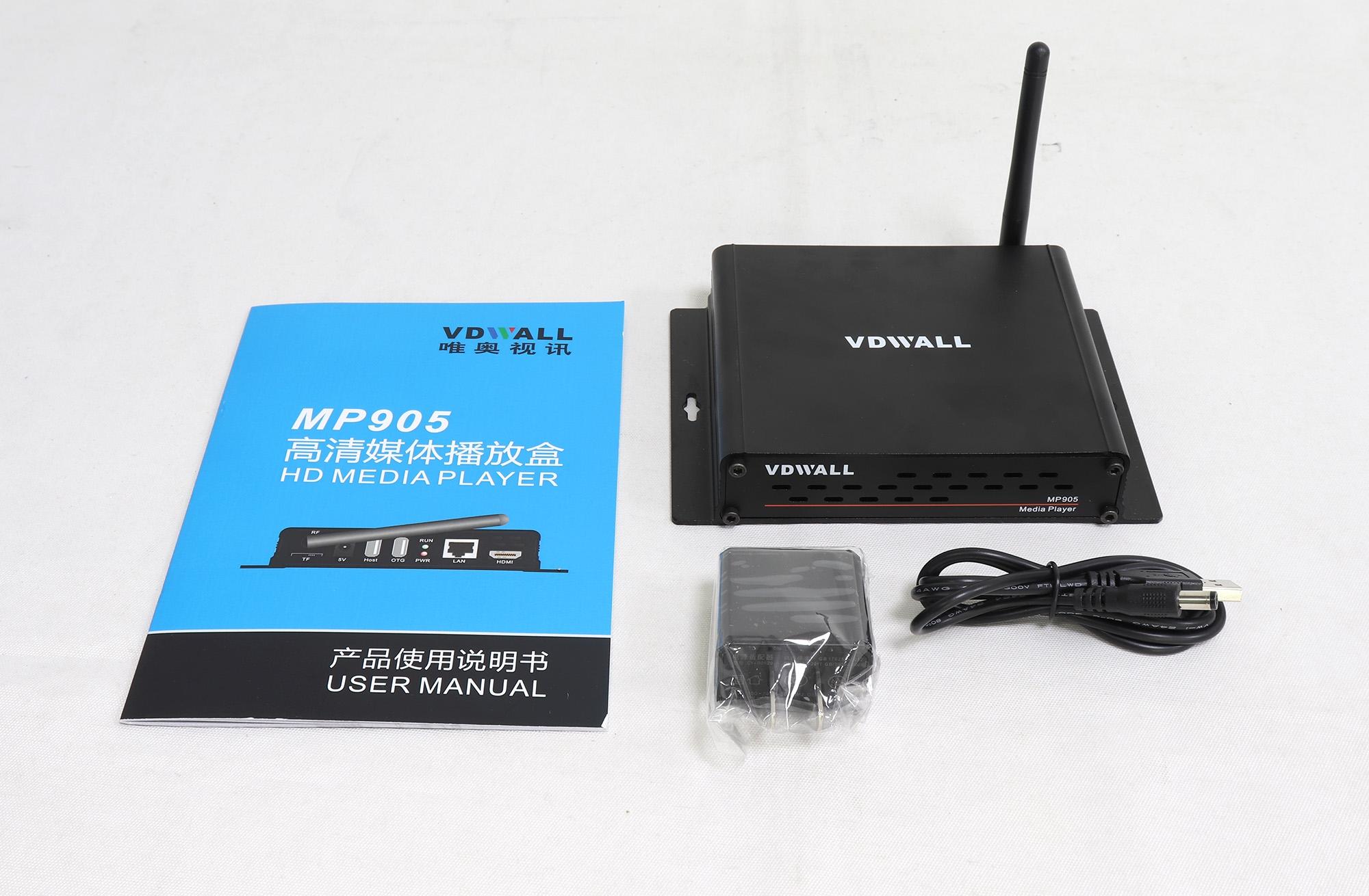 VDWall MP905 4K Ultra HD LED Display Media Player