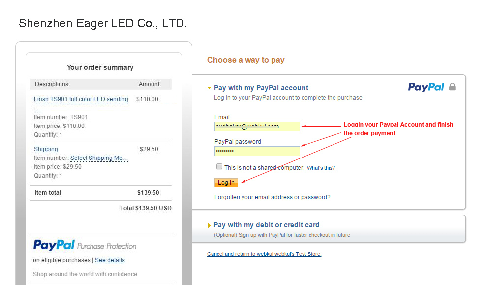 how to choose preferred payment method on paypal