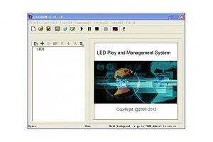 What is Colorlight Ledvision software admin password?