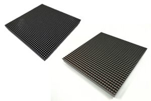 What is the difference between a SMD and DIP outdoor led display?