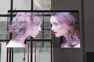 What are the characteristics of Transparent Glass LED Video Screen Wall?